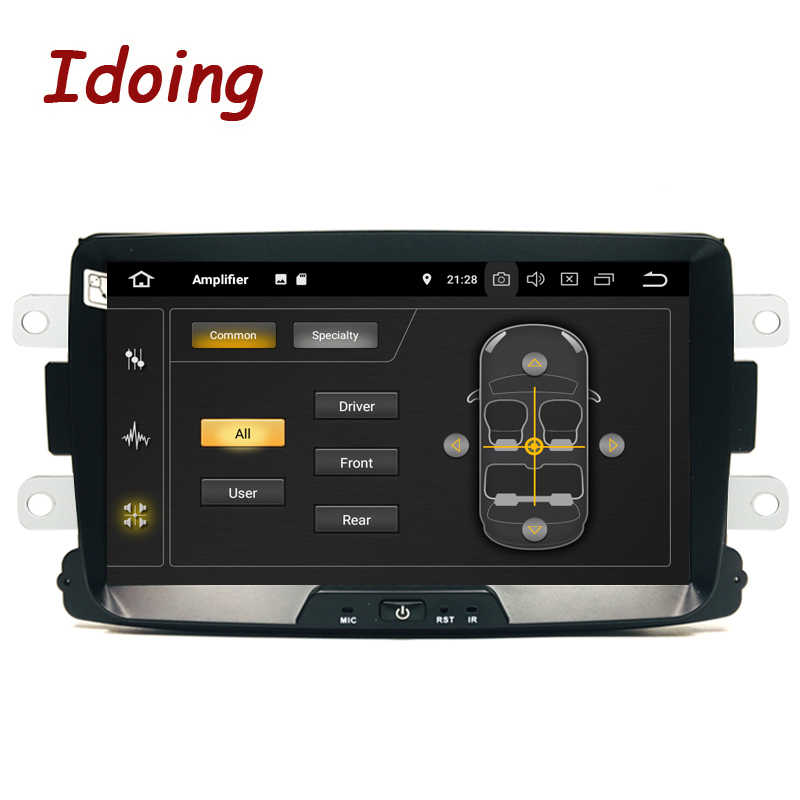 "Idoing 8 ""Car Multimedia player Android 9 Per Dacia/Sandero/Duster/Renault/Captur/Lada/Xray2/Logan2 DSP IPS 1280*720 NO 2 din DVD"
