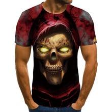 T-shirts com gola alta para verão 3d moda camiseta animal homem feminino camiseta tamanho grande atacado