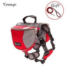 2019 new backpack reflective pet dog bag hound saddle travel camping small medium big free gift