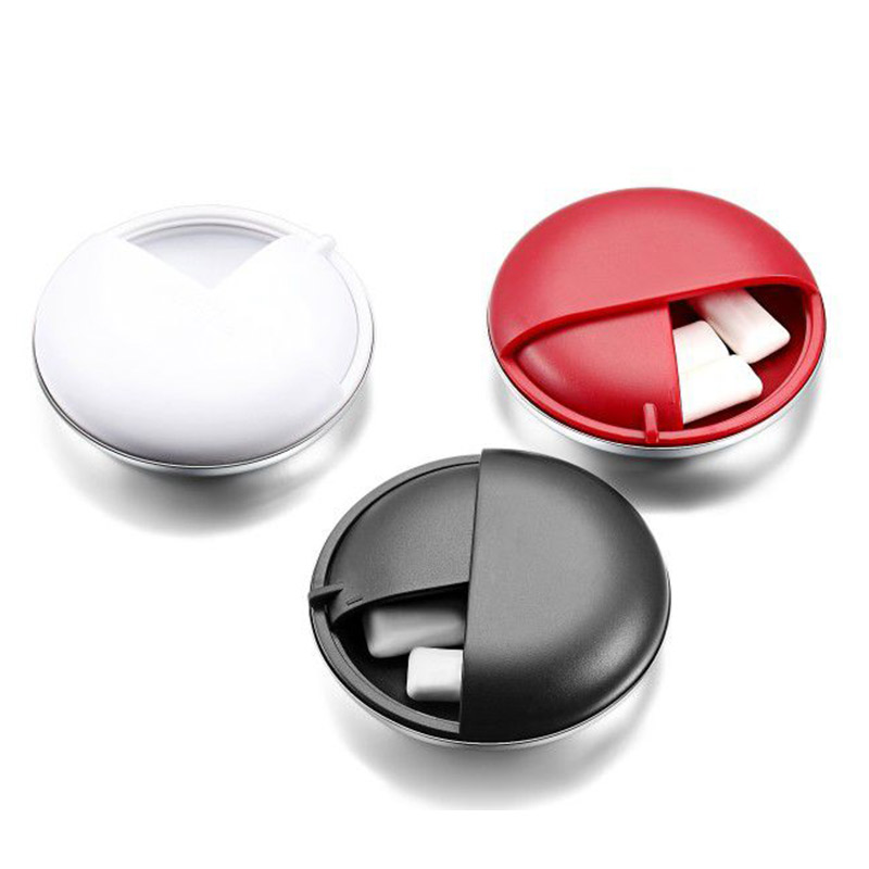 First Aid Pillbox Pill Organizer Rotating Pill Organizer Portable   Medicine Box Food Grade Material Safe Home Travel Outdoor