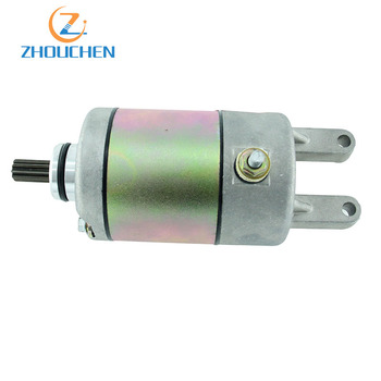 9 Teeth Alloy Starting Motor Aluminum Motorcycle Starter For Linhai FeiShen 250cc-300cc Water-Cooled Engine Scooter ATV