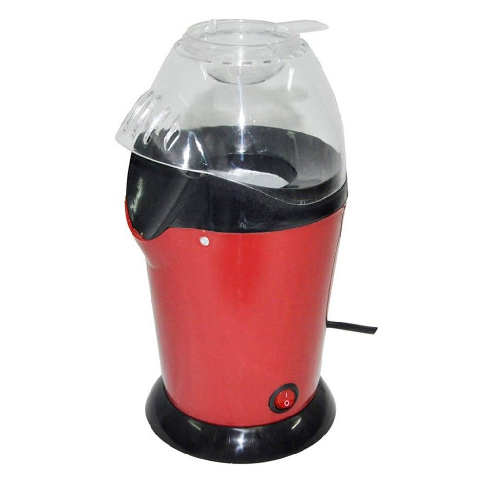 Popcorn Machine Hot Air Popcorn Maker Wide-Caliber Design With Cup Mini Electric Corn Machine EU Home