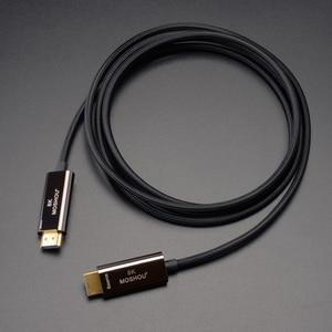 Image 4 - 8K เส้นใย Ultra HD สาย HDMI 2.1 CABLE 8K @ 120Hz Optical HIFI Audio สายเคเบิล HD (UHD) สายวิดีโอ 48Gbs สายไฟ HDR 4:4:4