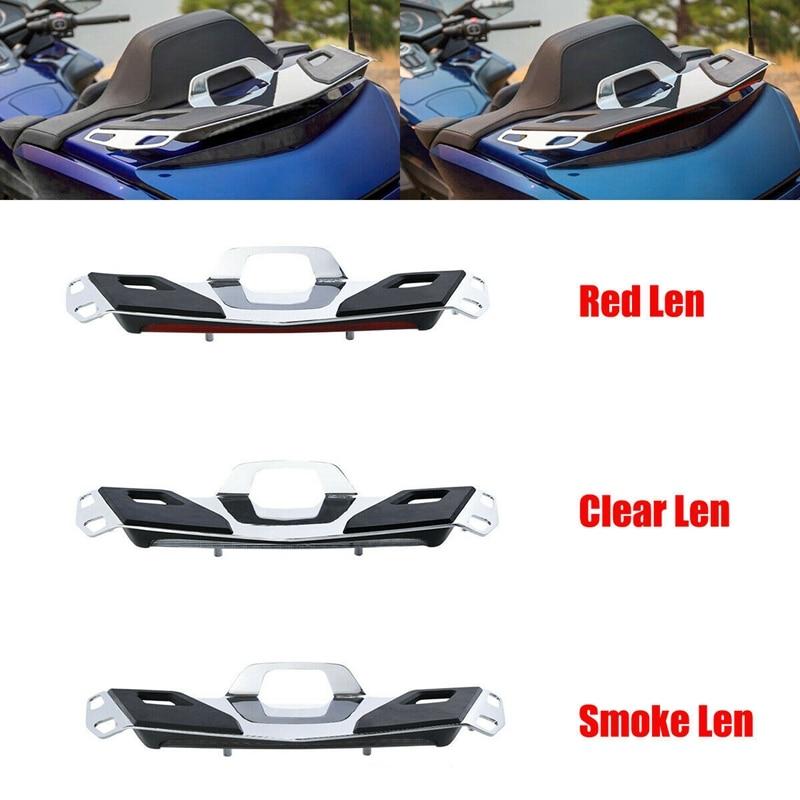 Motorcycle Trunk Luggage Rack W/ LED Brake Light Lamp For Honda Goldwing GL1800 2018-2020
