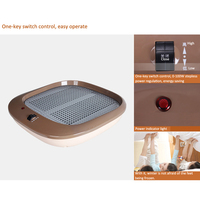 Calentador de pies hogareño HFW1009 calentador eléctrico sin polvo regulación de la temperatura traje de la máquina de calefacción para niños/padres/ancianos 220v 100w