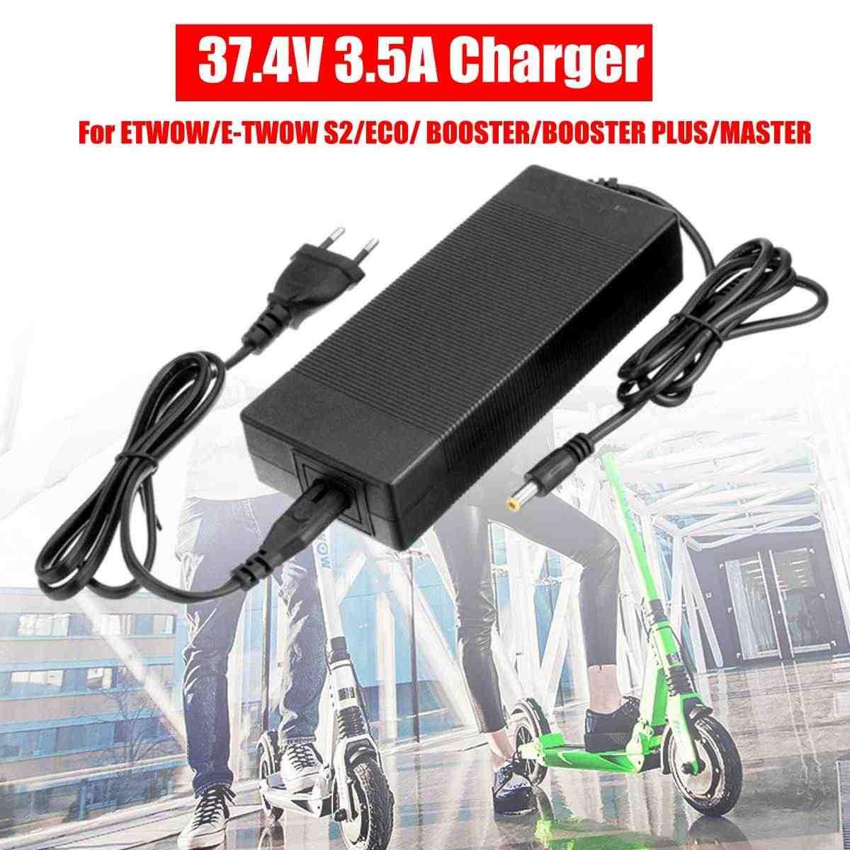 ホット販売オリジナル 37.4V3.5A プラグアダプタ充電器 ETWOW/E-TWOW S2 電動スクーターエコ/ブースター/ブースタープラス /マスター