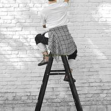 Miter Ladder Thickened Aluminum Alloy Household Ladder Folding Indoor And Outdoor Multi-function Double Side Ladder Engineering