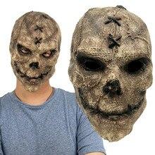 Halloween terror coringa máscara cosplay festa máscara crânio capacete adereços