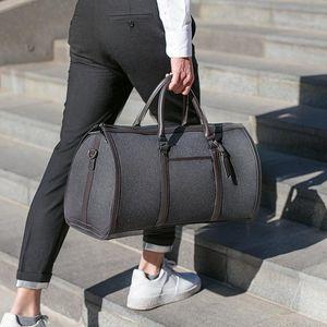Image 1 - ライトビジネス旅行バッグ旅行大容量収納 35L 荷物袋のレジャー屋外防水折りたたみハンドバッグボルサ