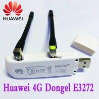 HUAWEI 4G E3272s 153 usb dongle FDD 800/900/1800/2100/2600MZH Unlocked 4G MODEM Free Shipping