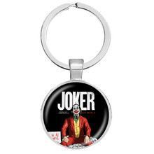 DC Joker porte-clés horreur Stephen King's It We All flotter ici Pennywise porte-clés escouade Suicide Joker Harley Quinn bijoux(China)