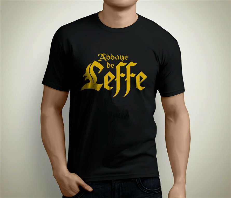 Leffe T Shirt Pub Bar T Shirt Black For Lovers Of Beer Of The Belgian Abbey Street Wear Fashion Tee Shirt T Shirts Aliexpress