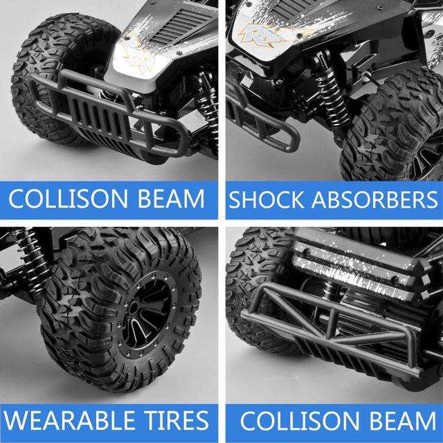 32Cm High-speed RC Rock Car with WIFI HD Camera Off-road Smart Vehicle Car Mobile Phone Control Car Model  Racing Buggy Toy 5