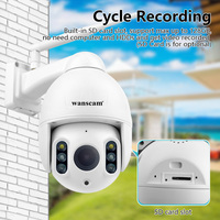 Wanscam K64A 1080P PTZ 16X Zoom FHD Face Detection Auto Tracking WiFi Wireless Two way Audio IP Camera r60