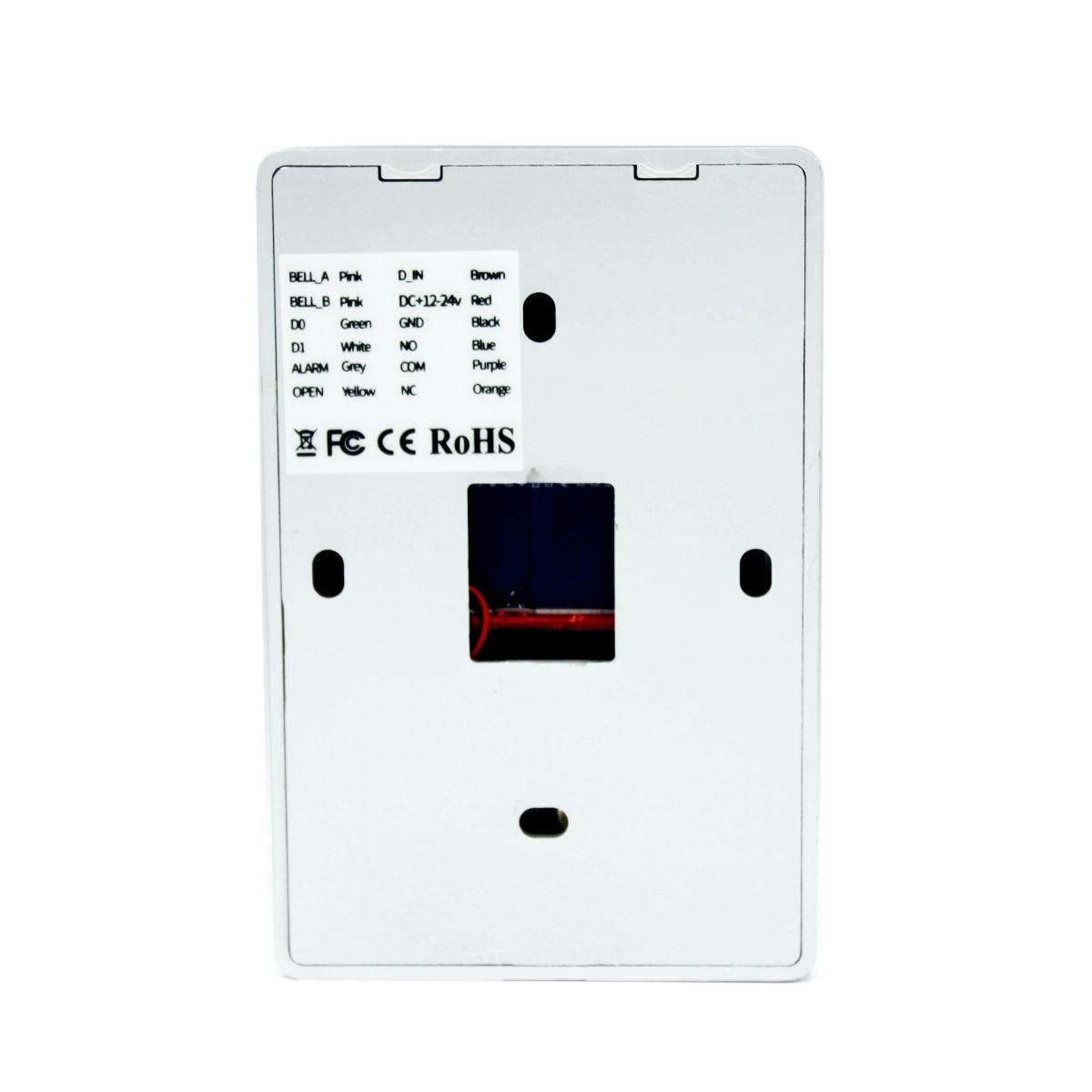 Backlight Touch 125khz RFID Card Access Control keypad EM card reader Door Lock opener wiegand 26 Backlight Touch 125khz RFID Card Access Control keypad EM card reader Door Lock opener wiegand 26 output Anti-disassembly Alarm