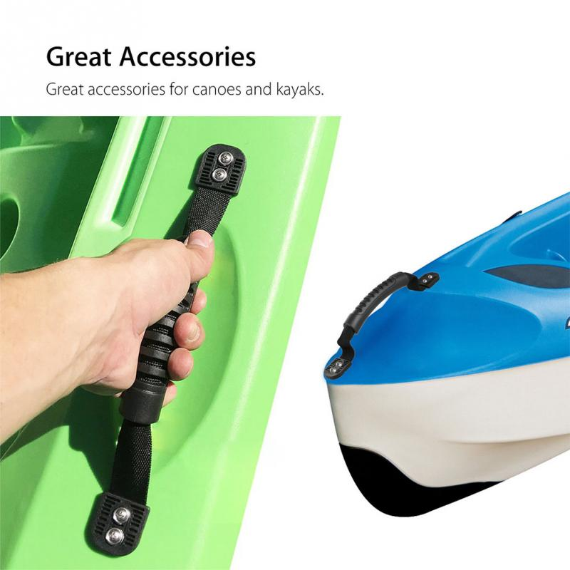 2pcs/set Equipment Comfortable For Canoe Side Mount Practical Kayaks Handle DIY Accessories Easy To Install Carry Boat Luggage