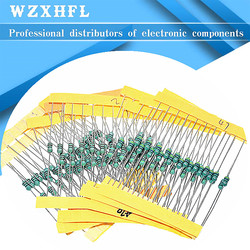 1/4W Inductor Assortment 0307 0.25W Color Ring Inductance Assortment 1UH-1MH 12valuesX10pcs=120pcs Inductors Assorted Set Kit
