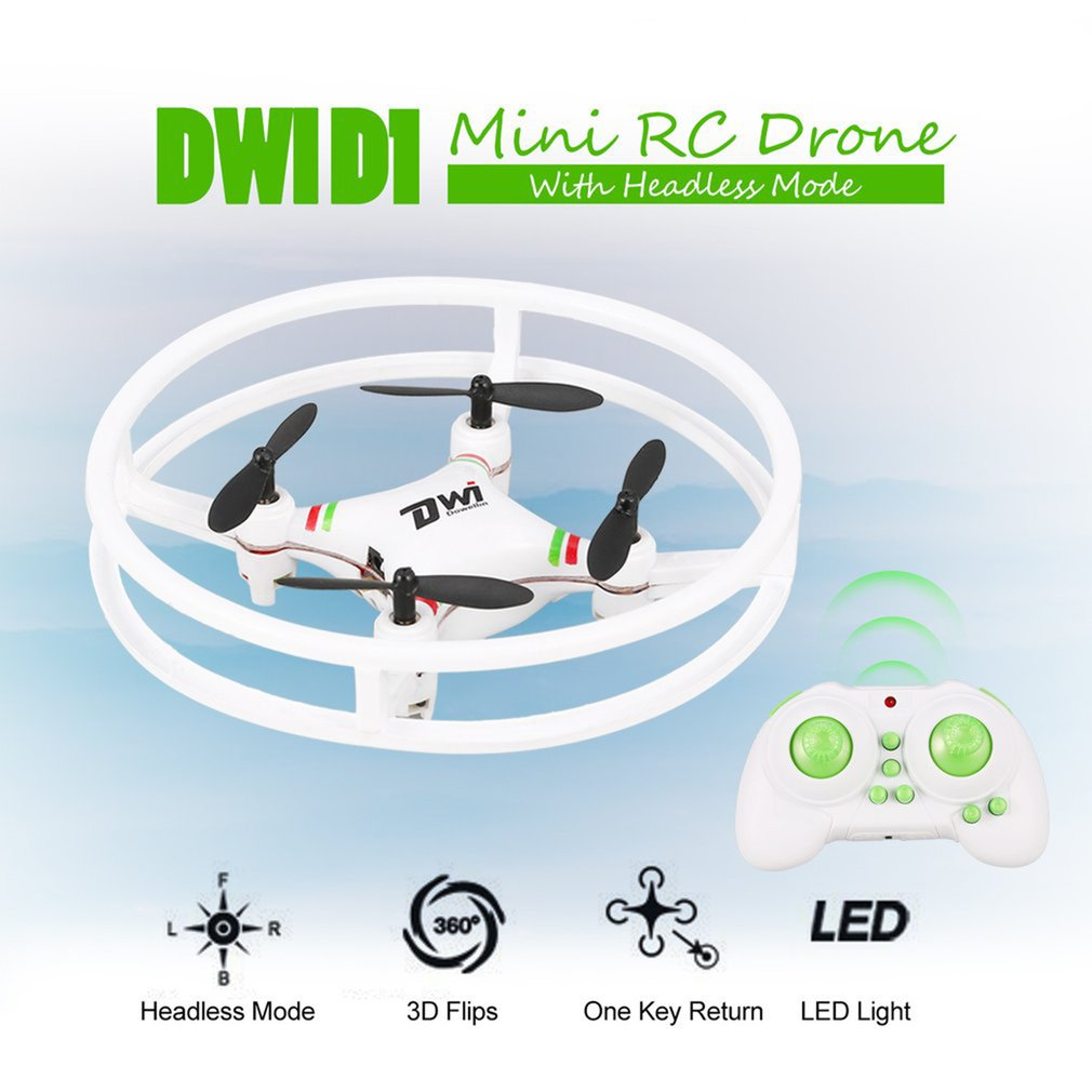 Mini Drone Nano Drones RC Quadcopter Quadrocopter RC Helicopter 2.4GHz Birthday Gift for Children Toys DwI D1 image
