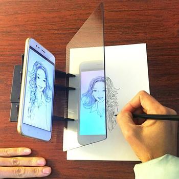 2021 nowy kreator szkicu Tracing tablica do pisania rysowanie optyczne projektor malowanie odbicie Tracing Line Table tanie i dobre opinie CN (pochodzenie) Z tworzywa sztucznego 447982 No fire Unisex Deski kreślarskiej 5-7 lat Zeszyt do kopiowania piece Projection drawing board
