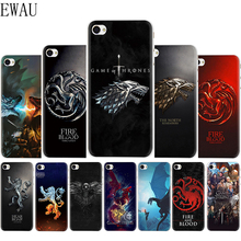 EWAU Game of Thrones Silicone Mattle phone cover Case for