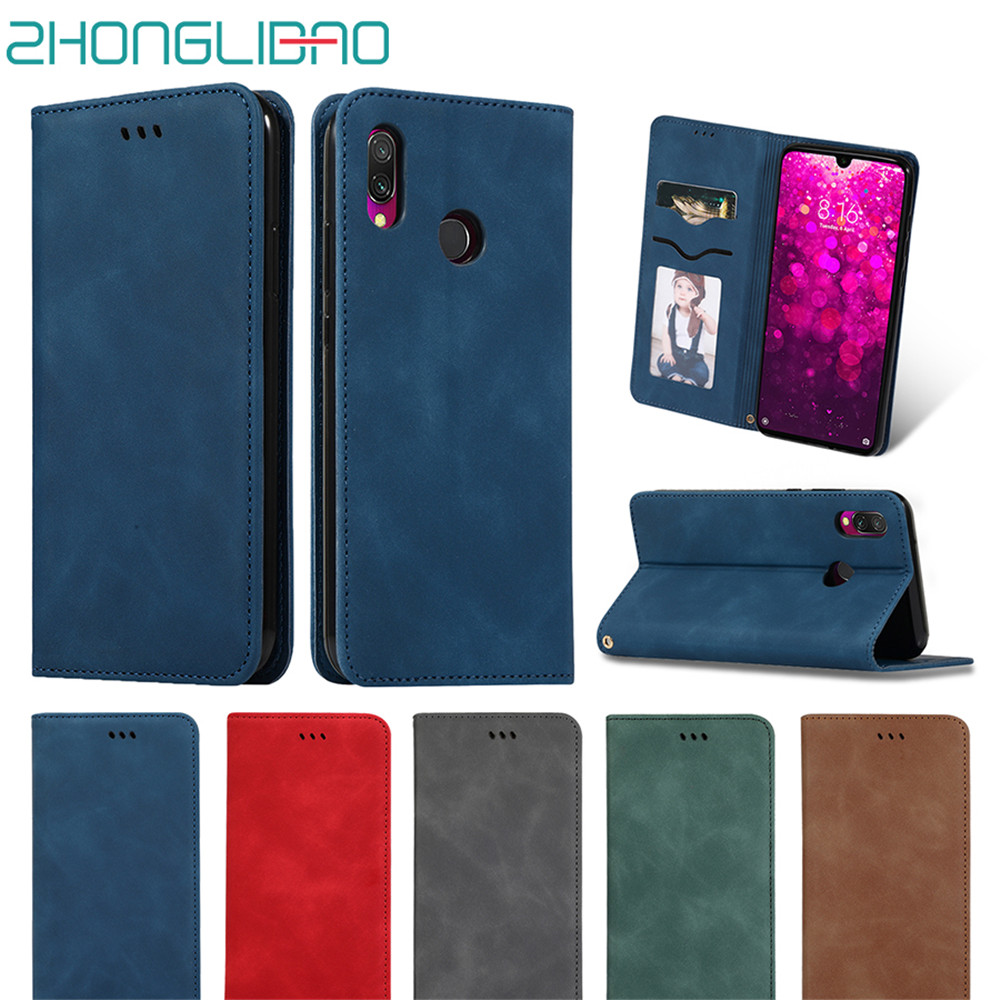 Flip Case for xiaomi redmi k20 note 7 6 mi 9 se 9t pro luxury leather magnetic card wallet stand cover redmi 7 7a y3 phone case