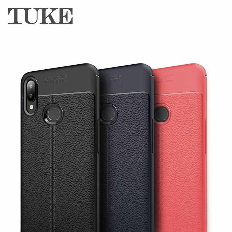Роскошный Litchi зернистый чехол для телефона huawei Nova 5 Мягкий ТПУ силиконовый