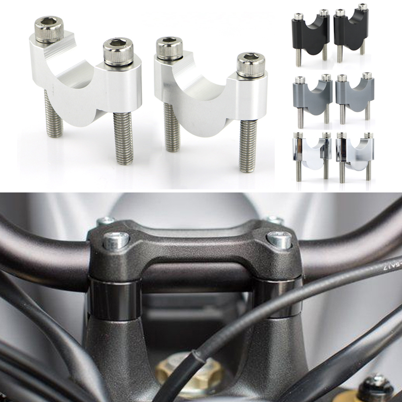 For Suzuki GSX-S750 GSX-S 750 2017-2020 RMZ450 28mm 1 1 8inch Handlebar Risers Fat Bar Riser CNC Billet Motorcycle Aluminum
