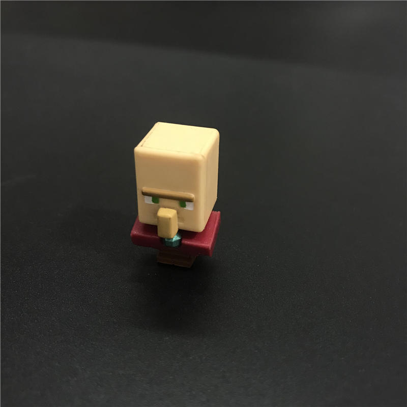 my world mini figures for Minecrafted Ocelot mooshroom Enderman Skeleton Steve Alex Zombie Bricks Figures For Children Toys 1