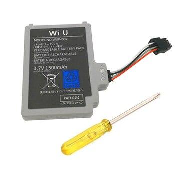 3,7 V 1500mAh Pack de batería recargable de Nintend wiiu wi u Gamepad WUP-012
