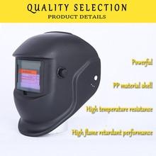 Welding-Helmet Argon Solar Automatic Arc Head-Mounted Flat-Flip Half-Helical