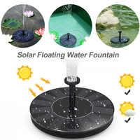 Мини солнечный фонтан Солнечный фонтан сад бассейн пруд открытый солнечная панель украшение сада