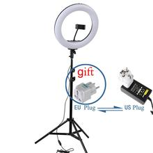 LED Selfie Ring Light 14'' 36 cm Makeup Video Ring Lamp With 160cm Tripod For Photography Selfie Camera Youtube Shoot Lighting