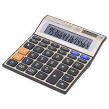 цены New Office Home Calculator 14-Digit Large Screen Calculator Battery Solar Dual Power Office Desktop Financial Battery Calculator