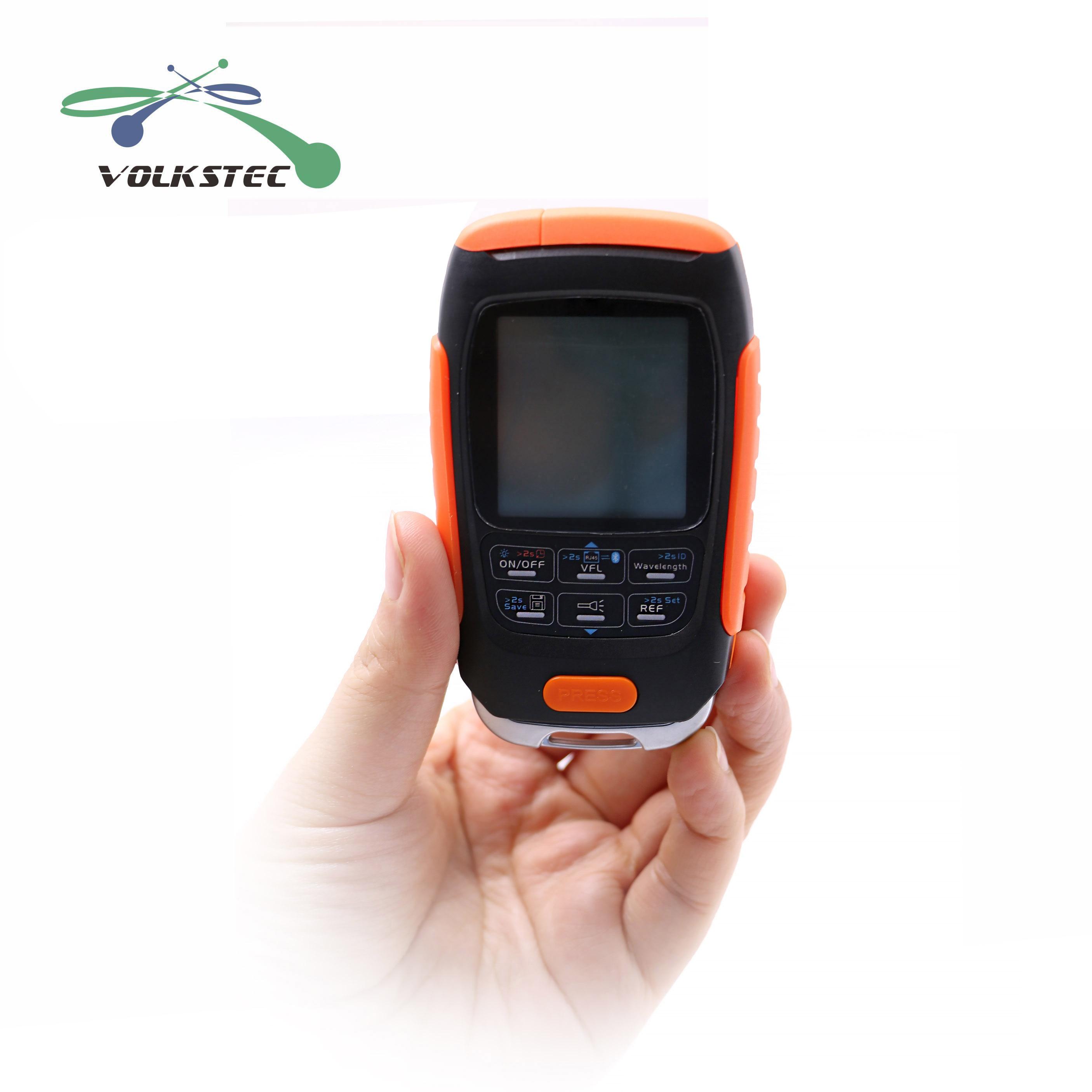 4in1 Li-lion Batterie Optische Power Meter Visual Fault Locator Netzwerk Kabel Test optische faser tester 5km 15km VFL Freies verschiffen