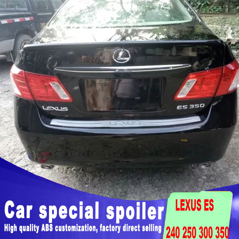 2006 2007 2008 2009 <font><b>2010</b></font> 2011 FOR <font><b>LEXUS</b></font> ES 240 <font><b>250</b></font> 300 350 spoiler high quality ABS material rear trunk rear wing primer spoiler image