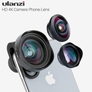 Image 1 - Ulanzi HD 4K caméra téléphone objectif 2X téléobjectif 100 grand Angle avec CPL 238 objectif Fisheye pour iphone 7/8 X HUAWEI P20 PRO xiaomi