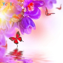 Spring Flower Butterfly Baby Shower Beautiful Backdrop Vinyl Photography Background For Photo Studio Photophone Photozone Shoot colorful butterfly photography backdrops baby vinyl backdrop for photography camera fotografica background for photo studio