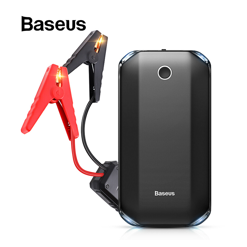 Baseus Power-Bank Jumper Starter Batery Starting-Device Car-Emergency-Booster Auto Buster title=