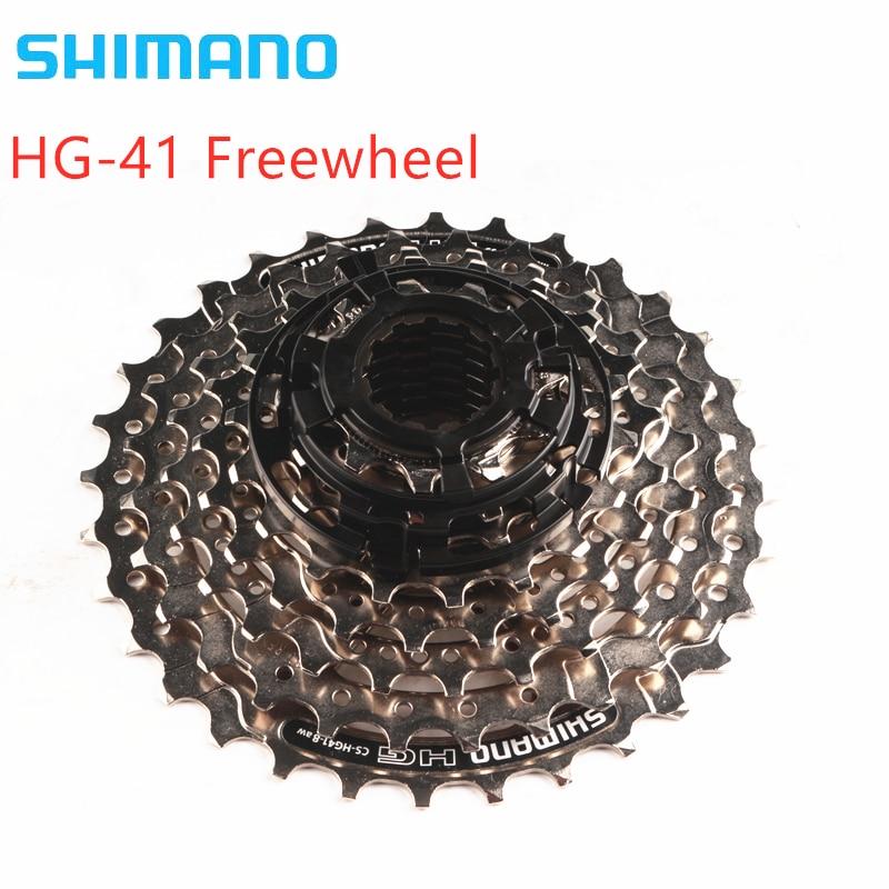 shimano HG41 8 speed 11-32T MTB Mountain Bike Bicycle 8S HG41-8 Cassette Freewheel 8-Speed Flywheel Crankset Bicycle Parts 312g