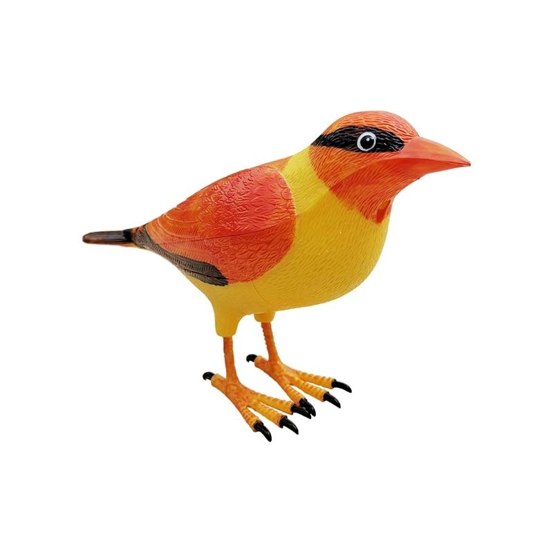 Unique Wireless Digital Bird Sound Home Remote Control Chime Doorbell Lovely(Orange)