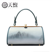 Pmsix New Women leather bag cowhide fashion luxury handbags women bags designer leather shoulder bag luxury handbags women bags tu teng hot sale luxury handbags women bags designer handbags high quality top leather fashion flap pocket shoulder bag g75680