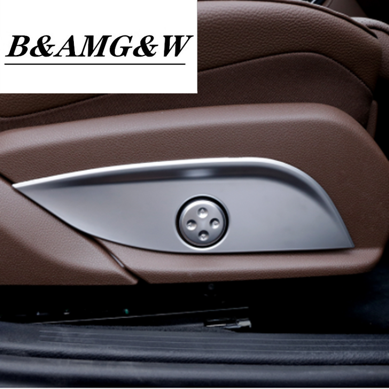 Seat Adjustment Switch For Kia Sportage QL 2017 Matte Chrome Cover Interior