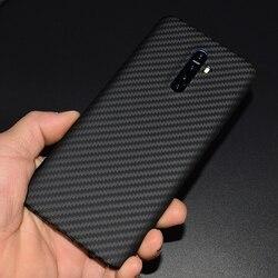 Carbon fiber Fall Abdeckung FÜR realme X2 Pro Ultra-dünne Business handgemachte realme X2Pro fall