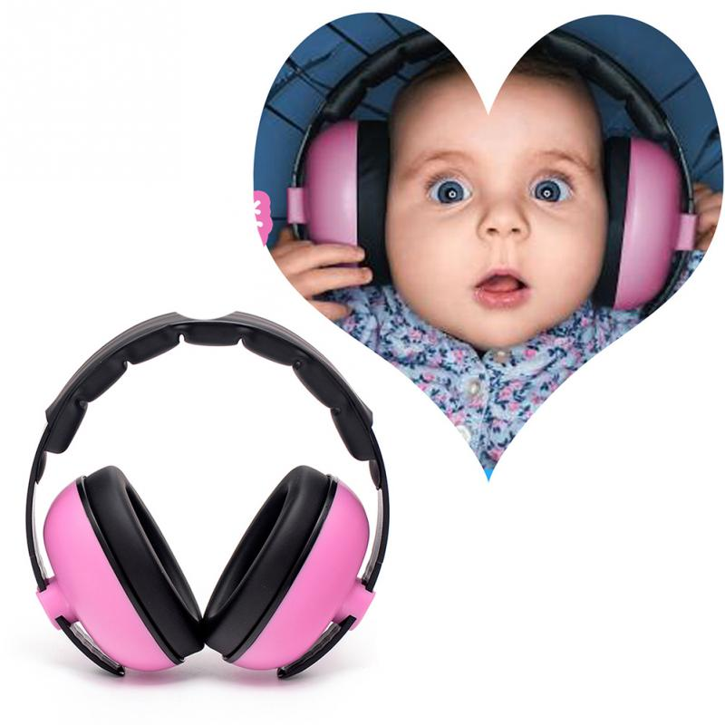Baby Kids Ear Protection Travel Outdoor Noise Canceling Gift Boys Girls Adjustable Headband Wireless Portable Padded Headphone