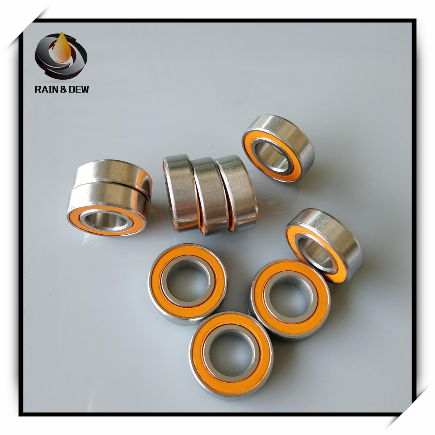 1Pcs  S688 2RS CB ABEC7 8x16x5 Mm Stainless Steel Hybrid Ceramic Ball Bearing S688-2RS S688 2RS