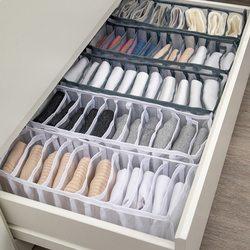 Boîtes de rangement pour sous-vêtements, chaussettes, accessoire de chambre, placards de dressing, commode, garde-robe, organisateur, classeur pour économiser de l'espace, range soutien-gorge