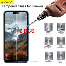 2Pcs Screen Protector for Huawei Nova 3 3i 3E HD Protective Glass Clear Film Phone Tempered Glass for Huawei Nova 4 4E 2S 2 Plus for huawei nova 3 3e 2s 2 p9 plus sport smart wristband heart rate fitness tracker huawei band 3e screen protector films