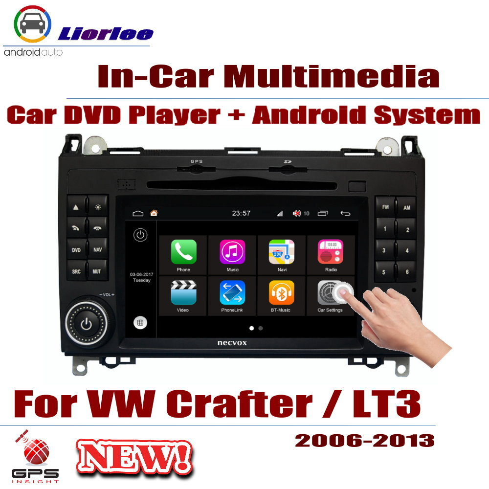 Fü<font><b>r</b></font> Volkswagen VW <font><b>Crafter</b></font>/LT3 2006 ~ 2013 Auto Android-Player DVD GPS Navigation System Radio Stereo Integrierte Multimedia image