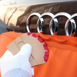 Image 4 - EHDIS Fahrzeug Vinyl Wrap Anwendung Werkzeuge Kit Auto aufkleber decals styling Rakel Schaber Messer wärme pistole Fenster Tönung Werkzeug