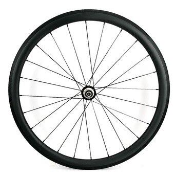 700C Sprint węgla super lekki tylne koła 38mm głębokość 25mm szerokość clincher/szytki rower szosowy z włókna węglowego z tyłu zestaw kołowy UD matowe wykończenie|Koła roweru|   -